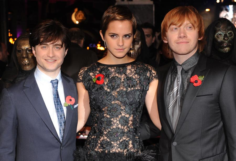 tom felton and emma watson. Rupert and Tom are the most