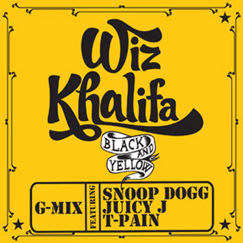 "It's the G-Mix for Wiz Khalifa's ""Black and Yellow"" featuring Snoop Dogg,"