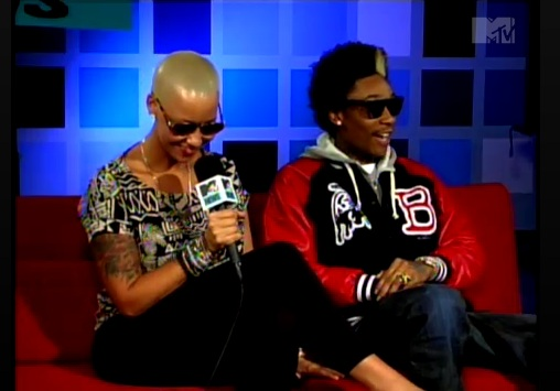 wiz and amber rose. Amber Rose and Wiz Khalifa