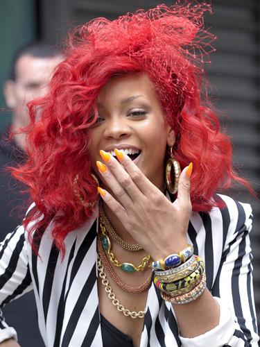 rihanna red hair x factor. 5ae2a_rihanna-red-hair-styles-