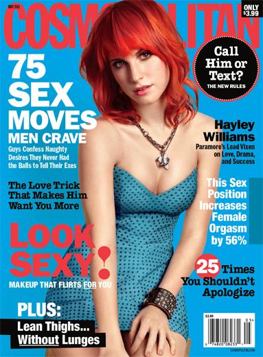 hayley williams cosmo magazine cover. divaFotos: Hayley Williams