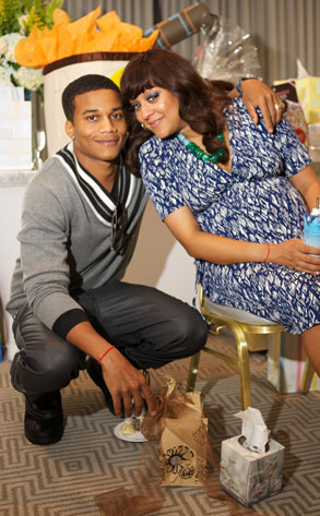 tia mowry baby shower pictures. Tia Mowry and Cory Hardict