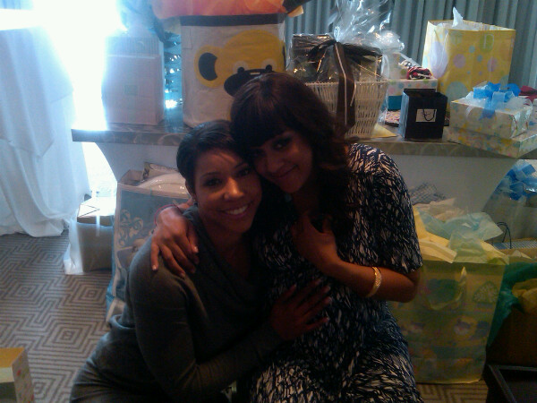 tia mowry baby pictures. Tia Mowry#39;s Baby Shower