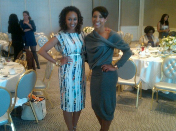 Tamera Mowry and Jeanette Jenkins
